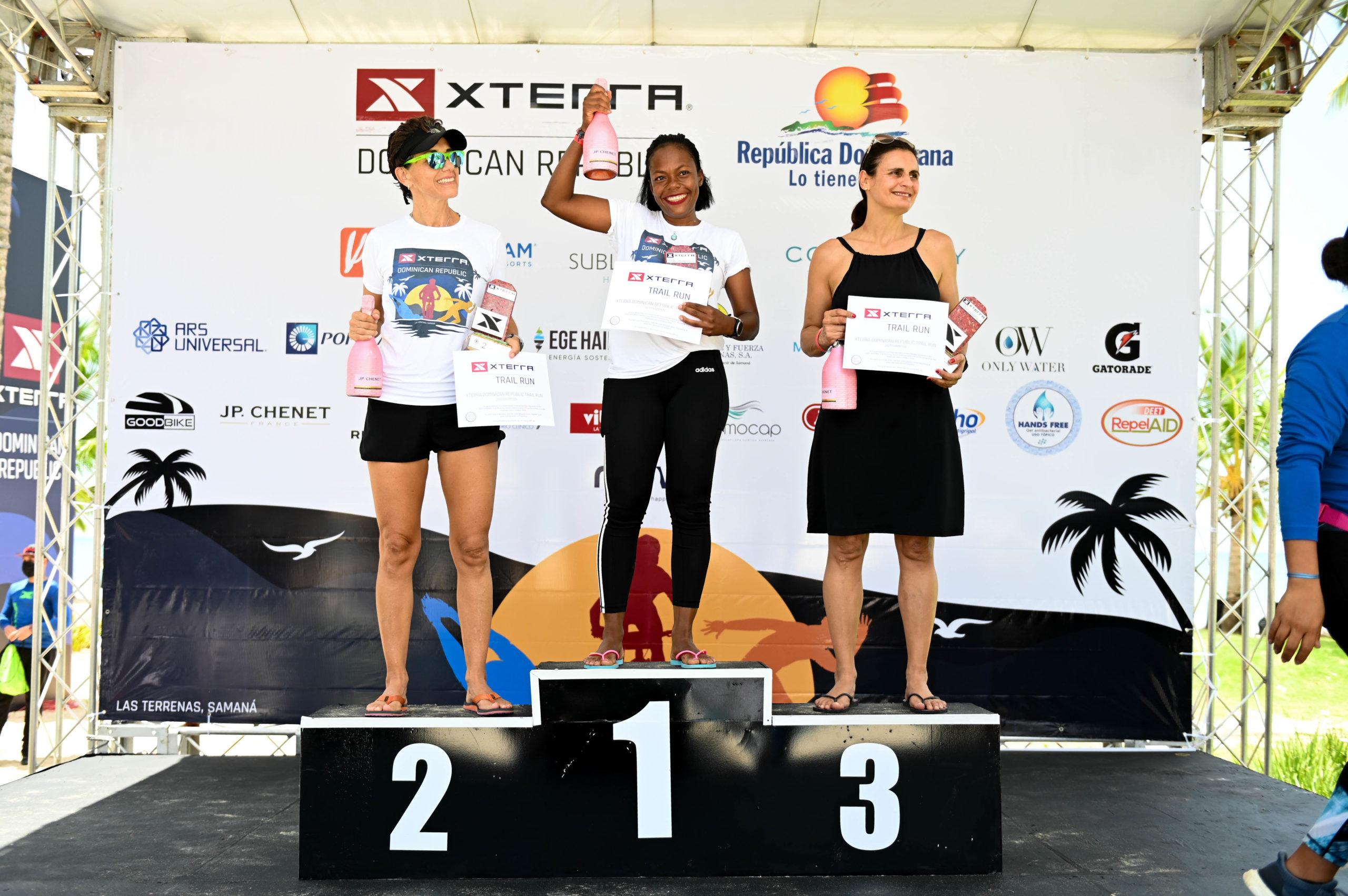 Campeonas femeninas 5ta versión Xterra República Dominicana