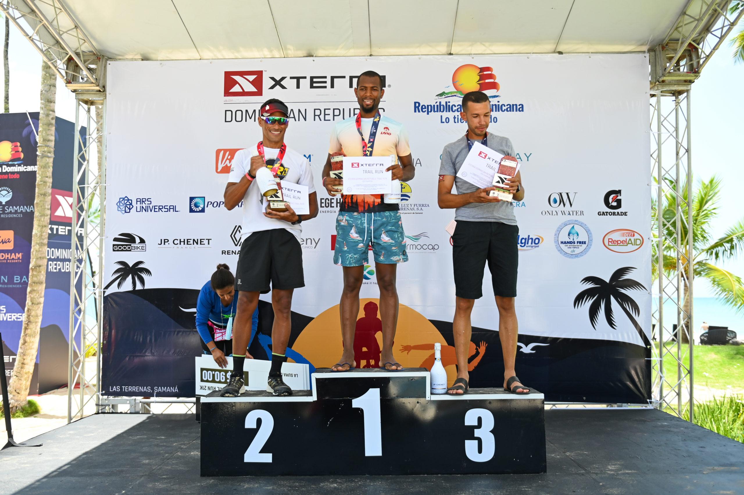 Campeones Masculinos 5ta versión Xterra República Dominicana